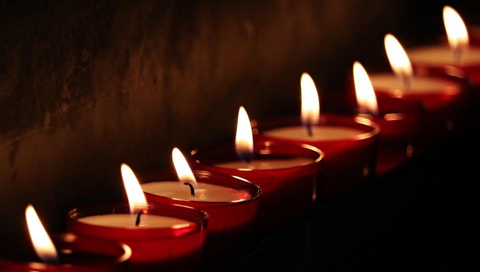 Tea Lights, Candles, Light, Prayer, Candlelight, Faith