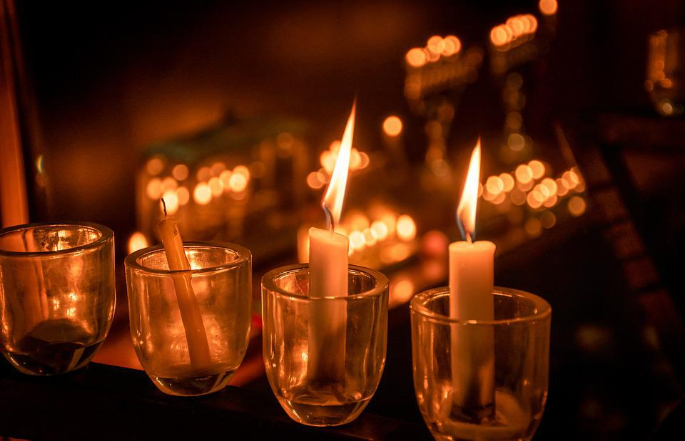Light, Candles, Candlelight, Prayer, Flame, Religion