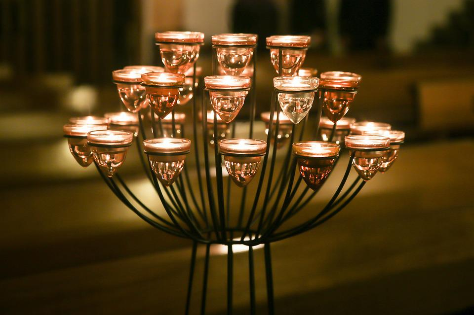 Candles, Candlestick, Candlelight, Romantic