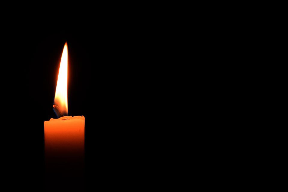 Candle, Light, Candlelight, Flame, Black Background
