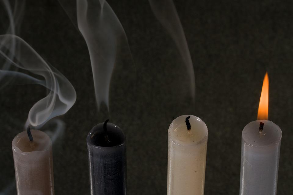 Candles, Light, Kindle, Flame, Candlelight, Smoke