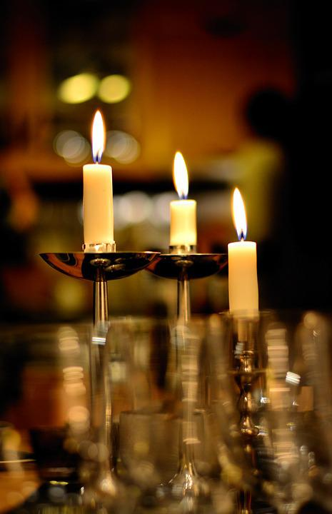 Candles, Candlelight, Candlestick, Lighting, Flame