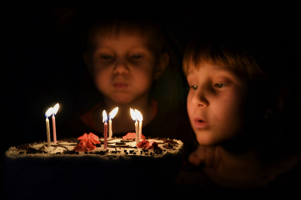 Candle, Day Of Birth, Flash, Candlelight, People