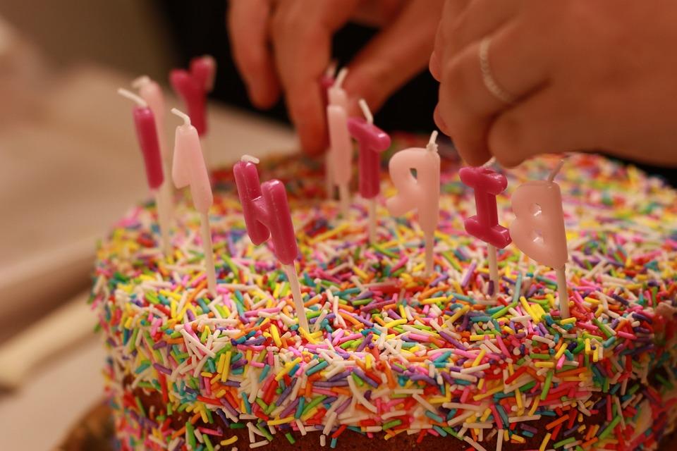 Cake, Candles, Birthday, Sweet, Party, Celebration