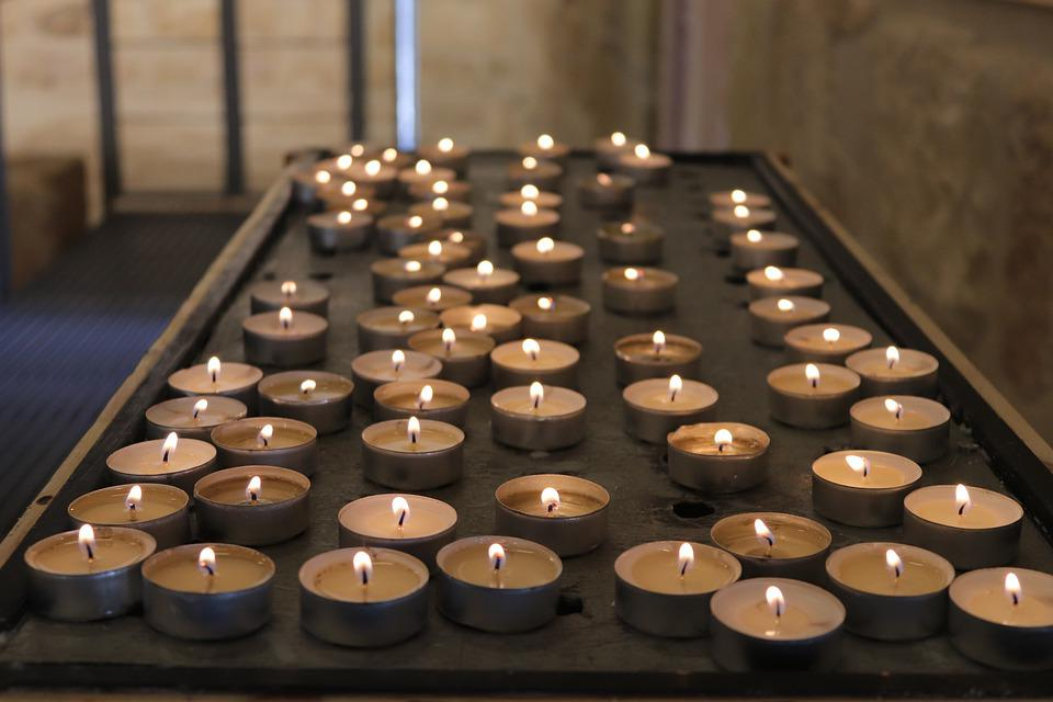 Candles, Church, Nebo, Commemorate, Christianity