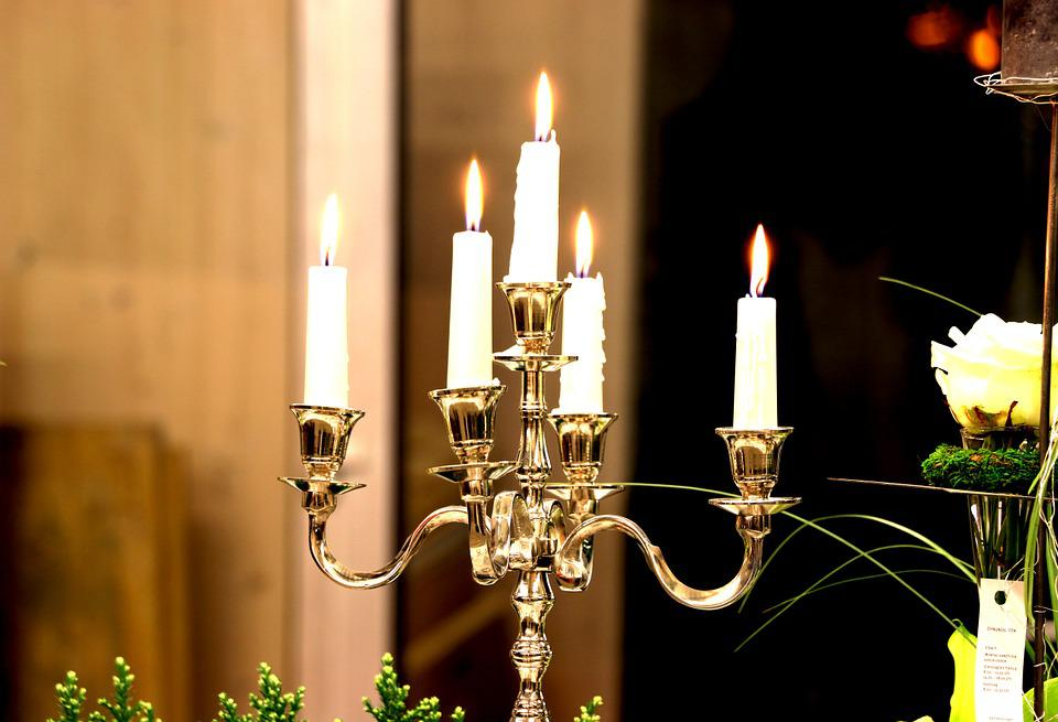 Candle Holders, Candles, Light, Romantic, Decoration