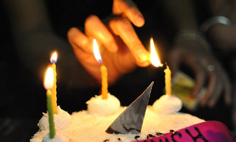 Candles, Light, Cake, Celebration, Decoration, Bright