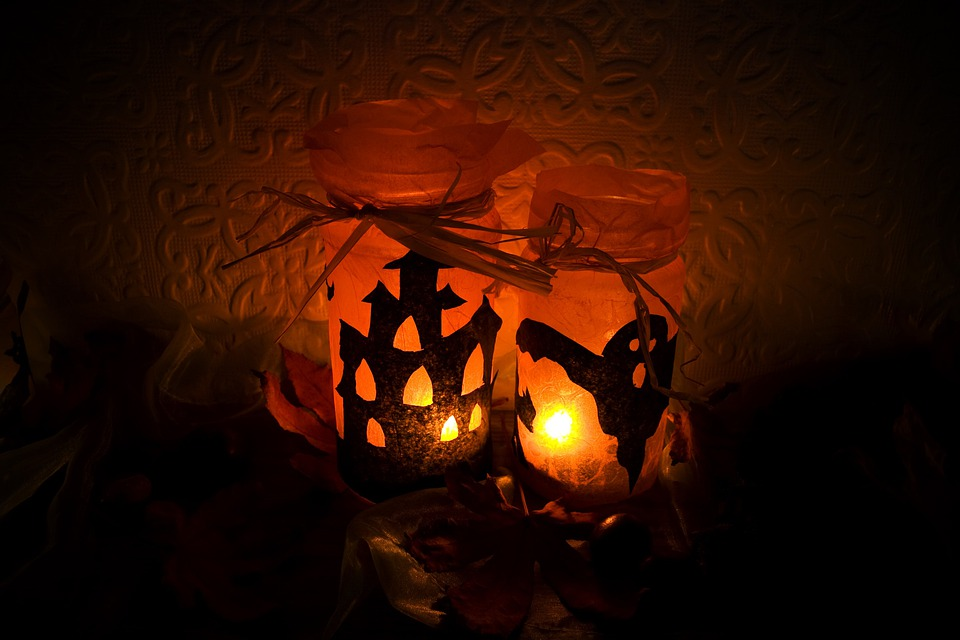 Halloween, Light, Candles, Scary, Celebration, Season