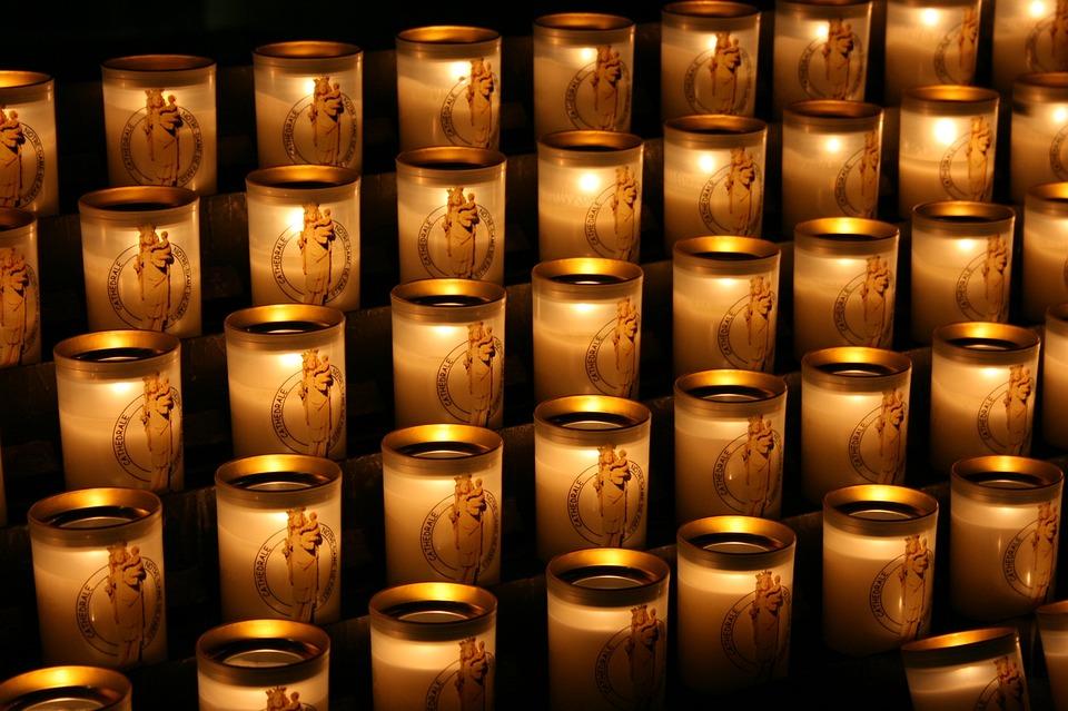 Candles, Lighted Candles, Notre Dame De Paris, Promise