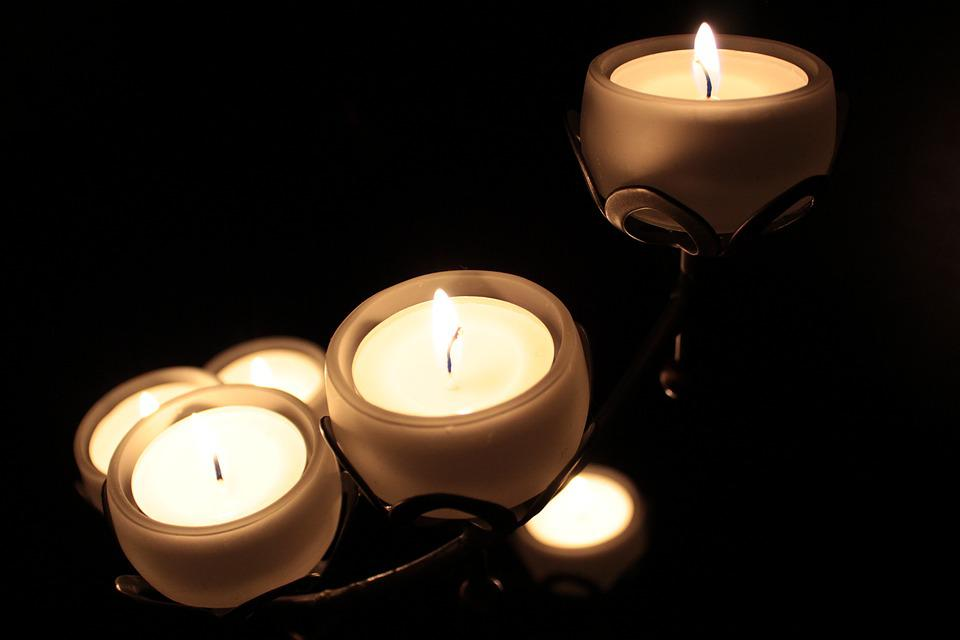 Candles, Candle Holders, Light, Candlelight, Romantic