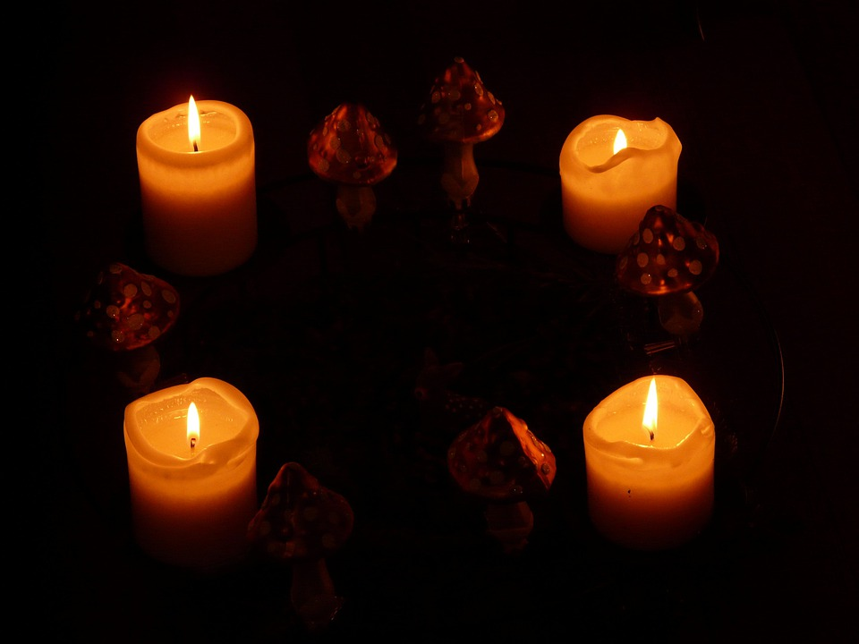 Candles, Candlelight, Light, Wax, Cozy, Quiet, Heat