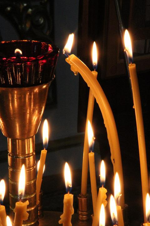 Candlestick, Burning Candles, Candle
