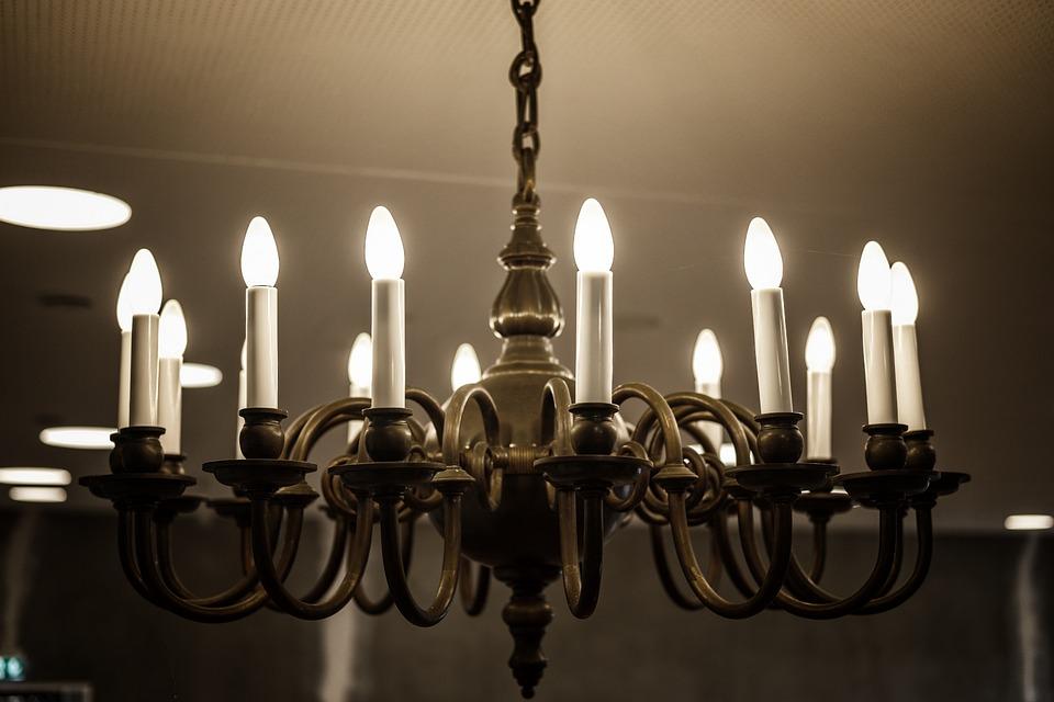 Lamp, Light, Chandelier, Lighting, Candlestick