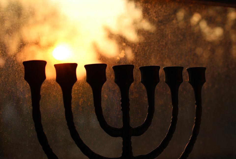 Religion, Judaism, Candlestick