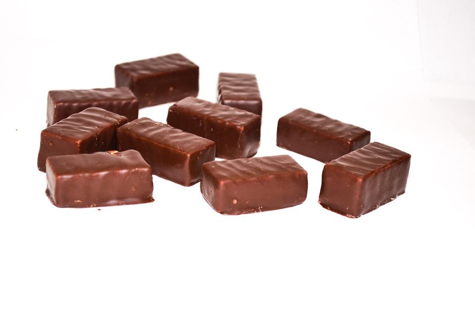 Chocolate, Candy, Chocolate Candy, Sweet, Black