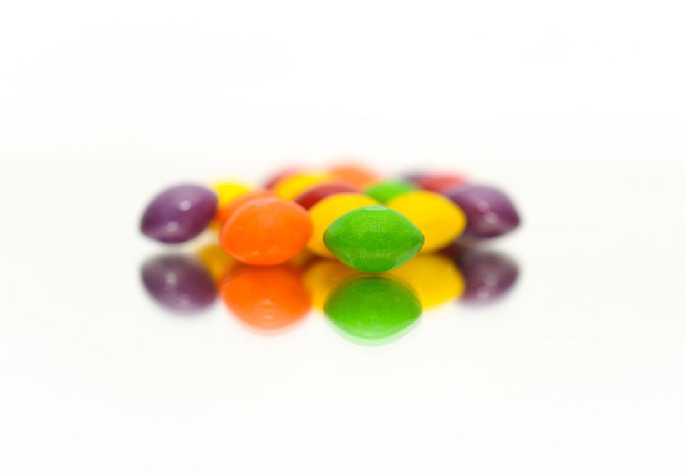 Candy, Skittle, Colorful, Skittles, Food, Sweets, Tasty