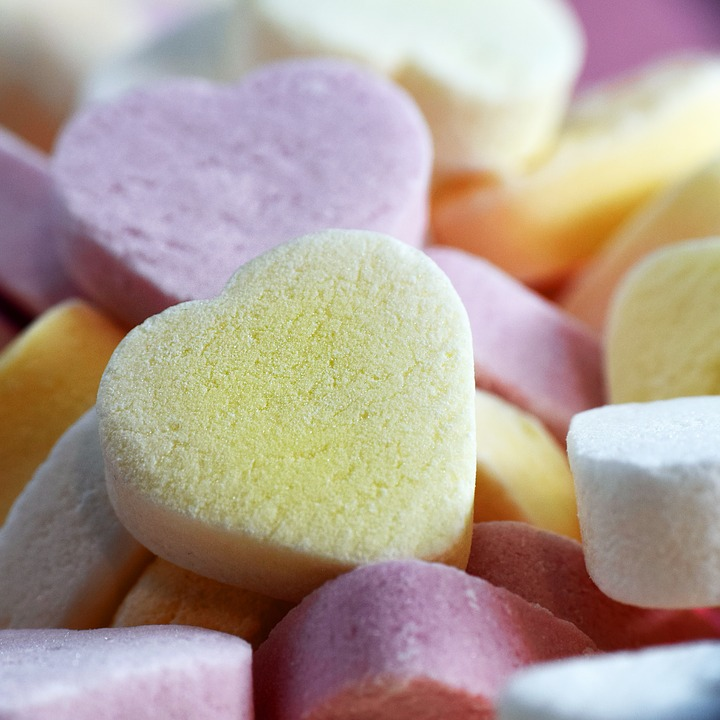 Candy, Heart, Sugar, Sweet, Food, Decoration, Eat, Pink