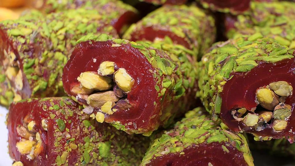 Turkish Delight, Süßigkeit, Meals, Food, Candy, Sweet
