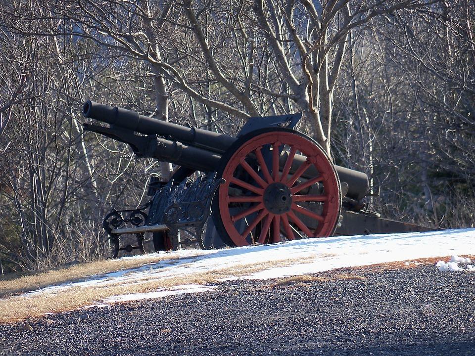 Cannon, Gun, Artillery, Military, Army, Army Gun