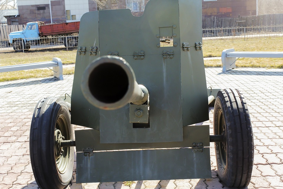 Cannon, Military, Weapons, War, Trunk, Old, Wheel, Army