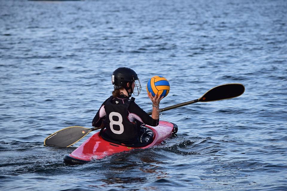 Canoeing, Canoe Polo, Training, Ball Sports, Play, Ball