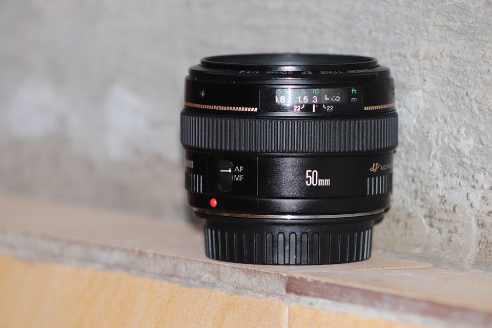 Lens, Canon, Focus, Photography, Aperture, Glass