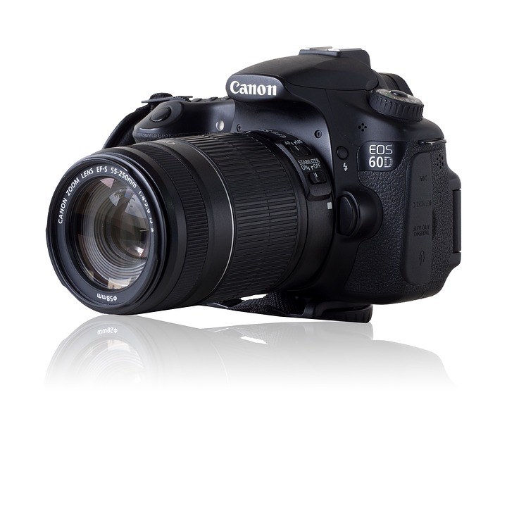Canon Eos 60d, Ef-s 55-250mm, Camera, Lens, Digital