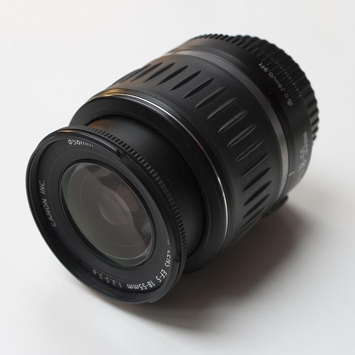 Lens, Canon, Camera