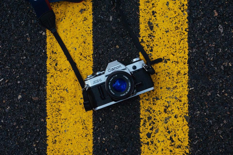 Camera, Canon, Lens, Slr