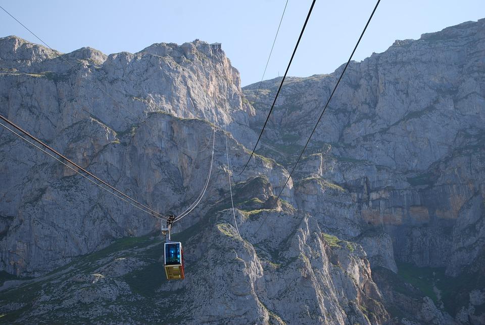 Cable Car, Fuente Dé, The Cable, Liébana, Cantabria