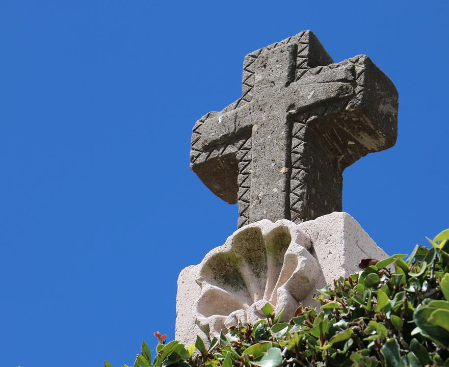 Cross, Sculpture, Stone, Architecture, Canterra