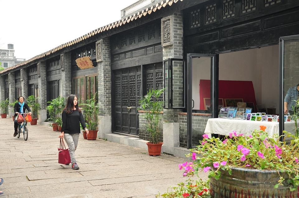 Canton, Huangpu Old Port, Street Art