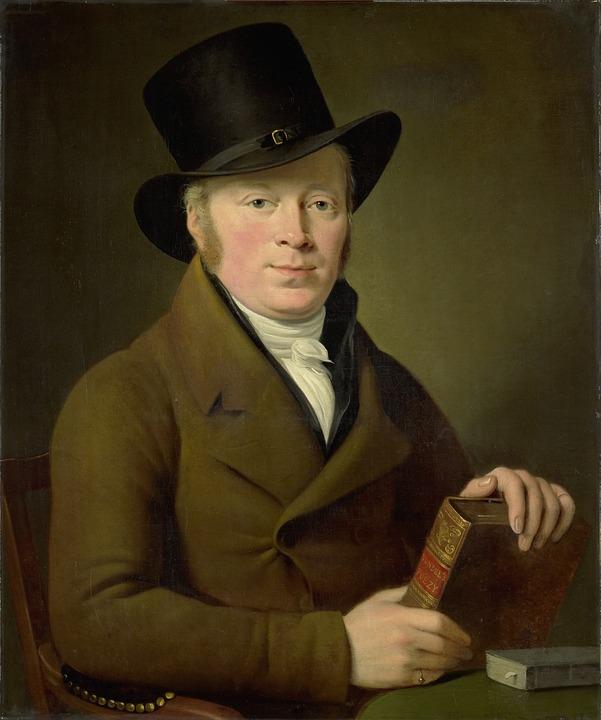 Barend Klijn Barendsz, Poet, Portrait, Canvas, Image