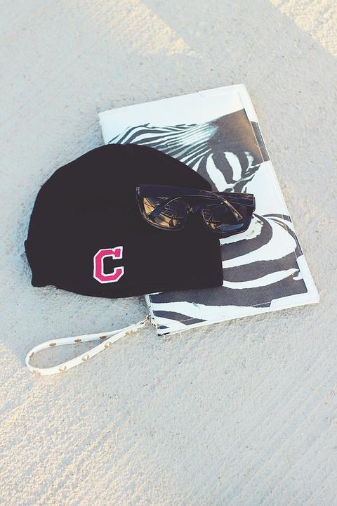 Sunglasses, Cap, Bag, Woman, Female, Fashion