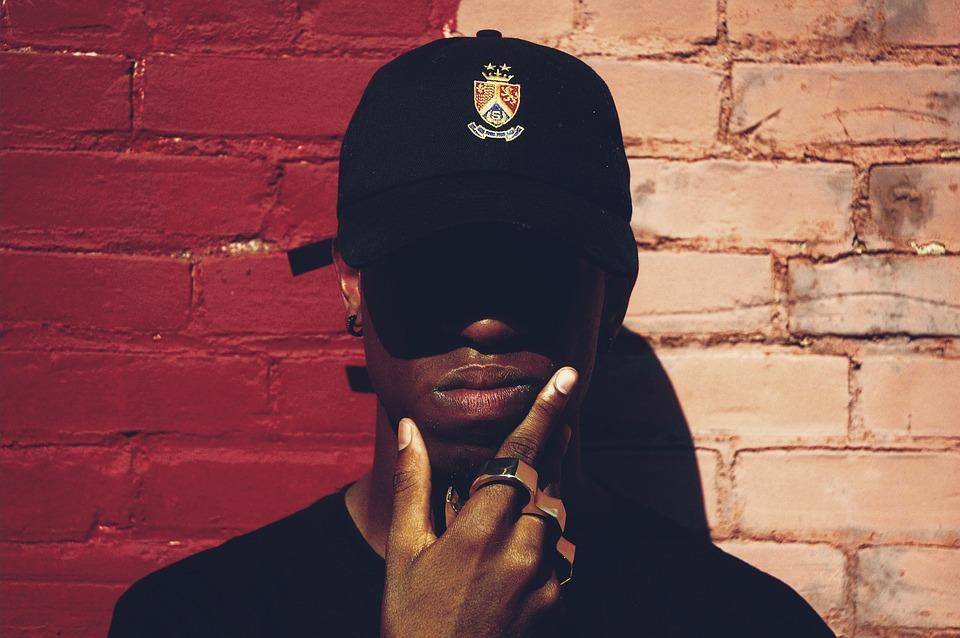 Man, Afro American, Cap, Fashion, Person, Rapper, Rap