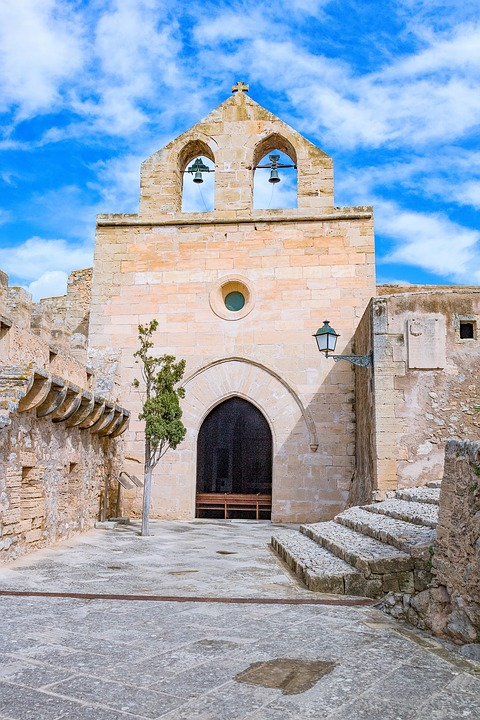 Mallorca, Capdepera, Castle, Bell Tower
