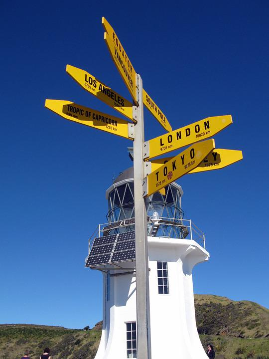 Direction, Lighthouse, Cape Reinga