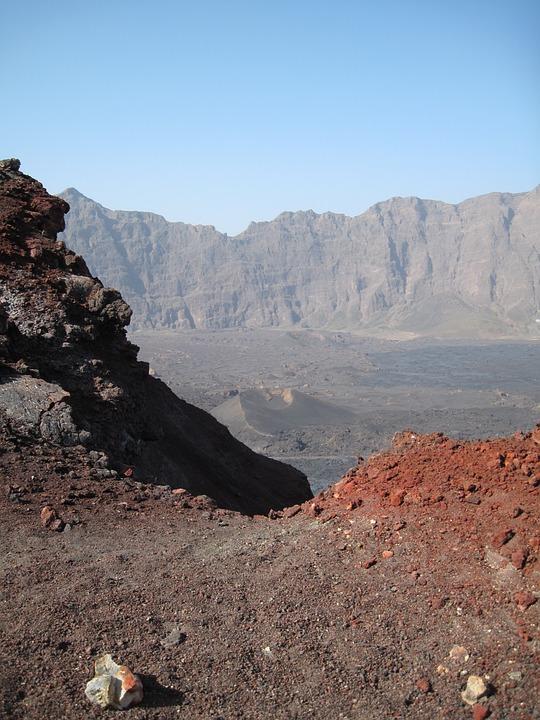 Landscape, Volcano, Volcanic, Rock, Cape Verde, Nature