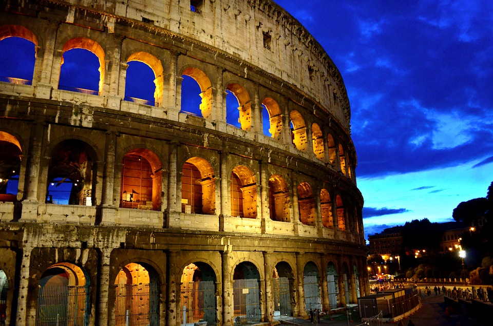 Rome, Colosseum, Italy, Capital, Ancient Rome, Ancient