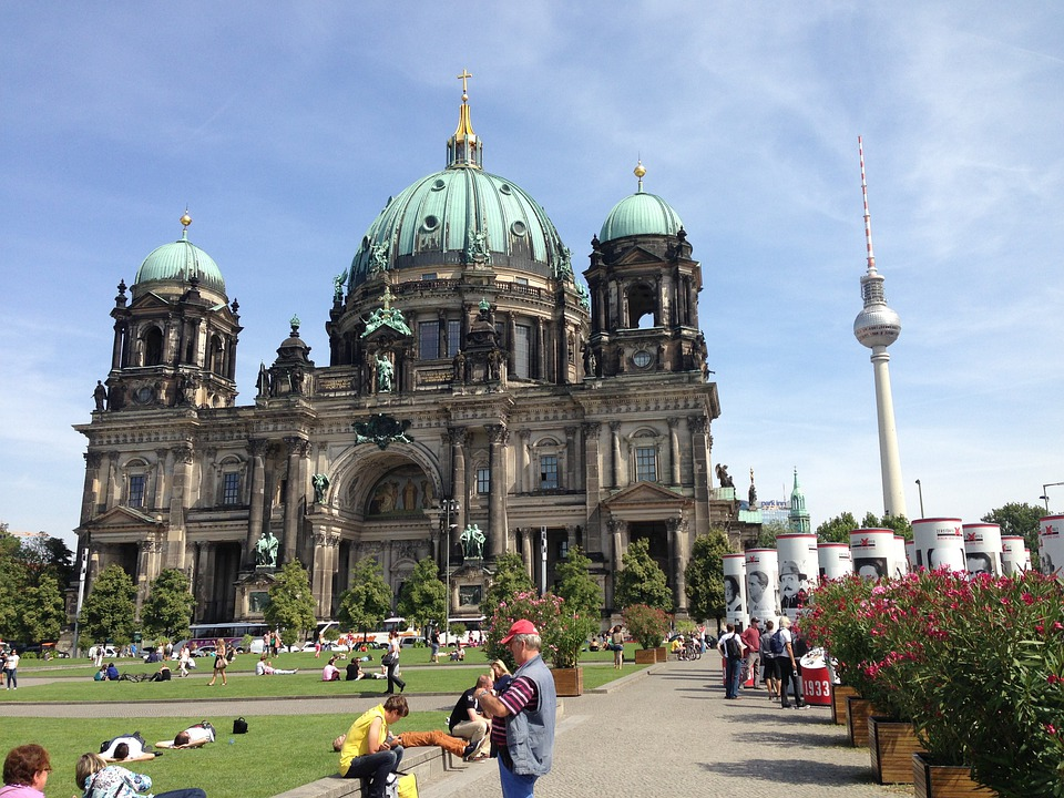 Berlin, Berlin Cathedral, Church, Architecture, Capital