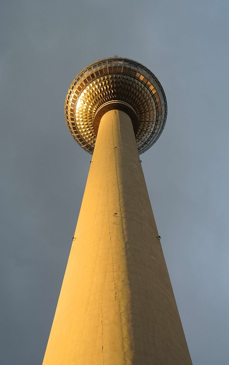 Tv Tower, Berlin, Perspective, Capital