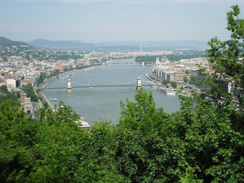 Budapest, Capital, Bridge, Danube