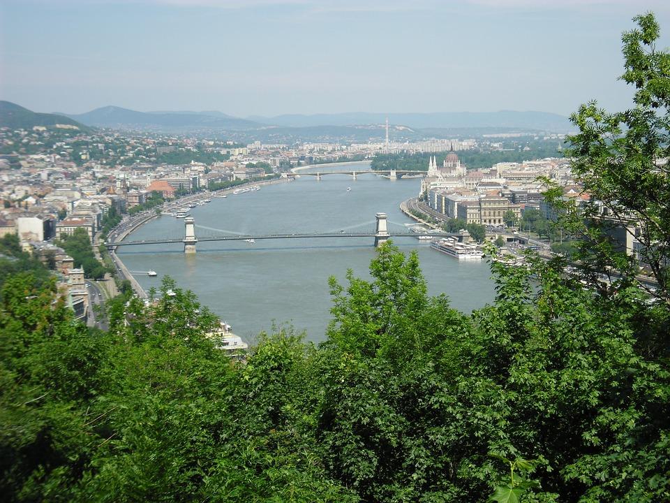 Budapest, Capital, Bridge, Danube