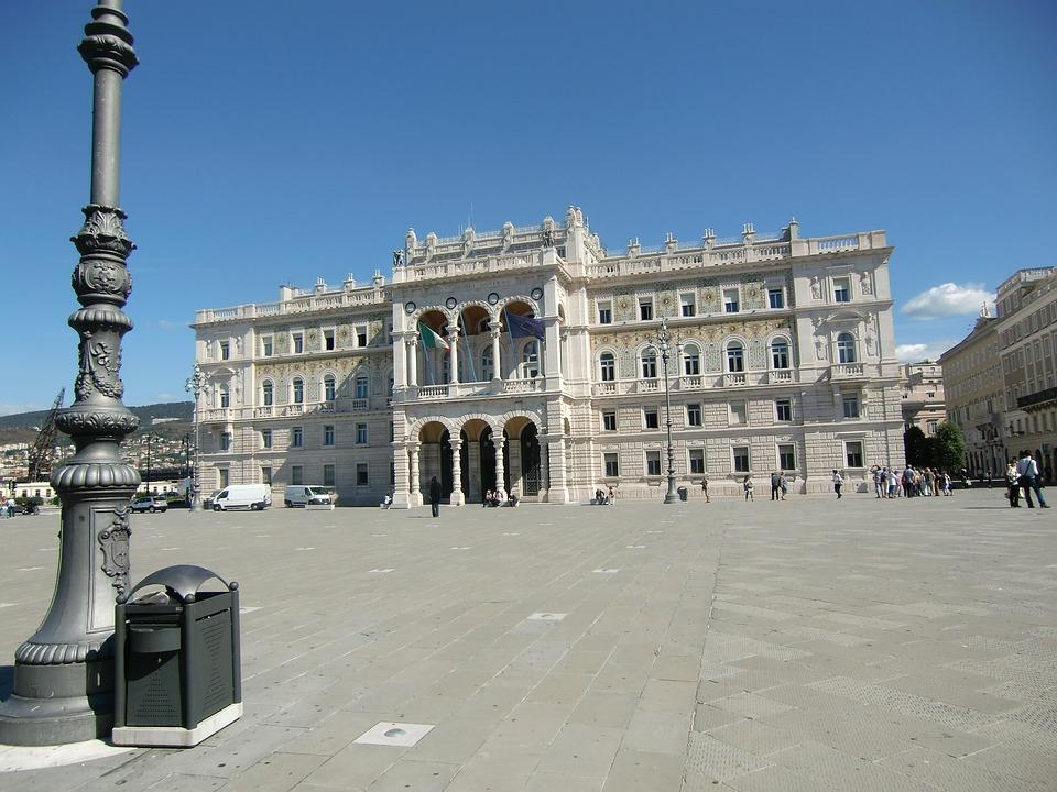 Trieste, Italy, Port, Capital, Town Hall