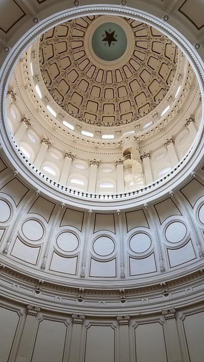Texas Capitol, Rotunda, Capitol, Legislation, Austin