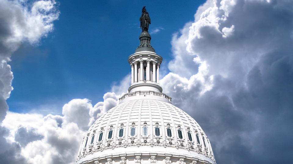 Capitol, Washington, Dome, Congress, Government, Usa
