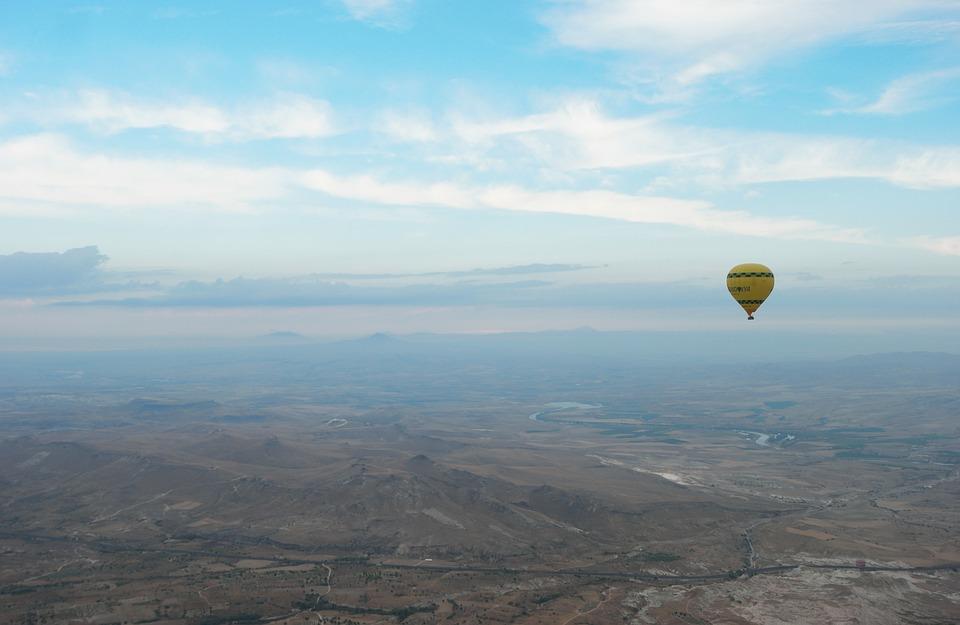 Turkey, Cappadocia, Hot Air Balloon