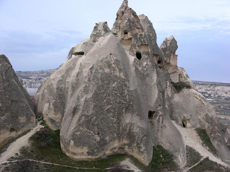 Cappadocia, Rock Formation, Erosion, Turkey