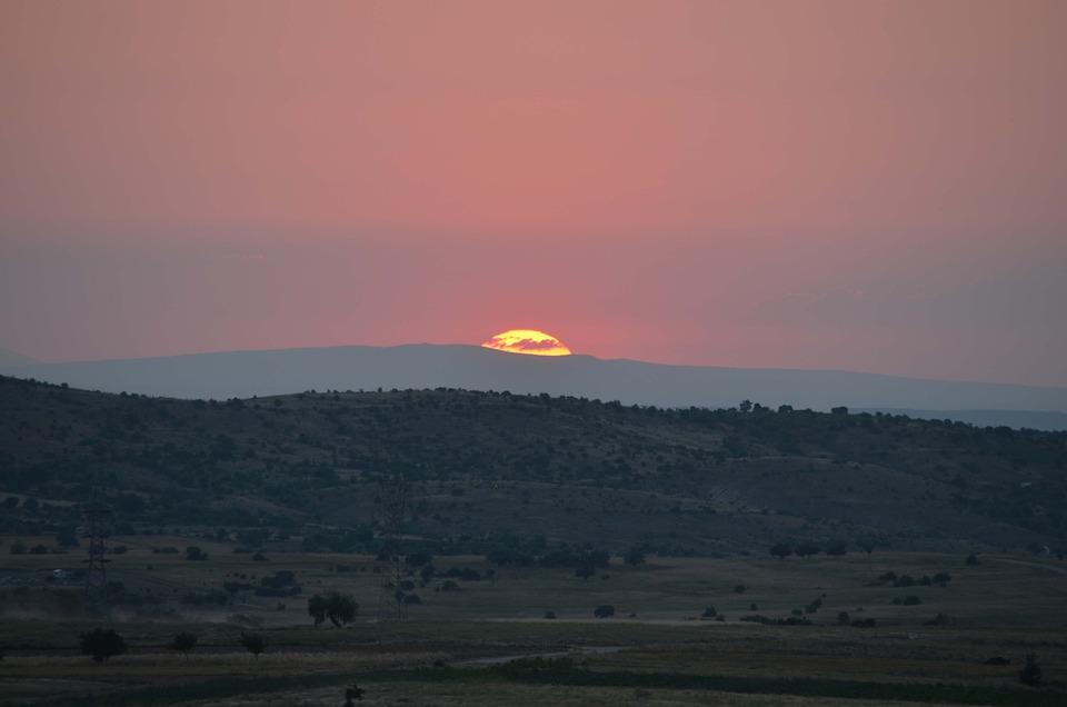 Sunset, Uchisar, Cappadocia