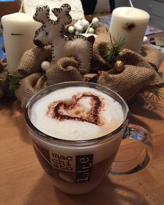 Coffee, Cappuccino, Advent, Romantic, Atmosphere